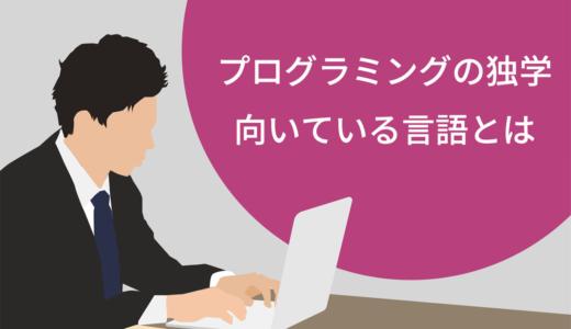 【入門】プログラミングの独学に向いている言語とは!おすすめの学習教材5選を紹介